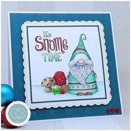 Stempel / Stamp: Transparent Transparent Stempel mit 5 weihnachtliche Motive