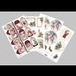 Bilder, 3D Bilder und ausgestanzte Teile usw... Papierset, Kerstmis, 4x A4-vellen, 250 g / m2