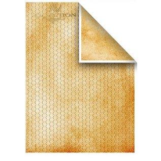 Karten und Scrapbooking Papier, Papier blöcke Set Karten und Scrapbooking Papiere, 5 x Blatt 200 g/m2, A4 (doppelseitig) + 1 x A4 Blatt mit Labels 200 g/m2