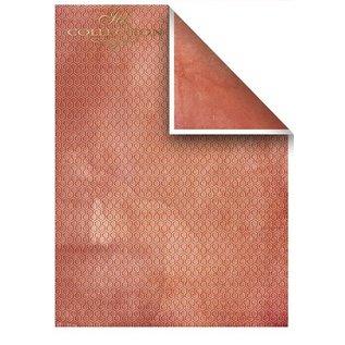 Karten und Scrapbooking Papier, Papier blöcke Set kaarten en scrapbookpapier, 5 x vellen 200 g / m2, A4 (dubbelzijdig) + 1 x A4-vel met etiketten 200 g / m2