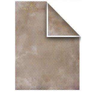 Karten und Scrapbooking Papier, Papier blöcke Set kaarten en scrapbookpapier, 5 vellen 200 g / m2, A4 (dubbelzijdig)