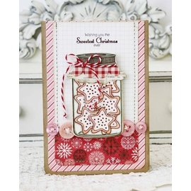 DARICE Embossing folders: Glass