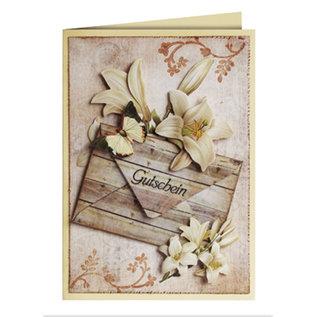 Karten und Scrapbooking Papier, Papier blöcke Kartenkarton, Sortiment Vintage, Holzmuster antik, Brauntöne