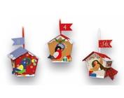 Calendario dell'Avvento e set di lavorazione per Natale