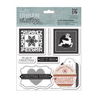 Stempel / Stamp: Transparent Rubber zegel: Thema Kerstmis