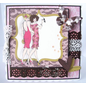 "Crafter's Companion A6 Frou Frou Unmounted Rubber Designer Stamp Set, ""Two Of A Kind"""