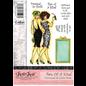 "Crafter's Companion 35% REDUZIERT! Frou Frou, Freundinnen,  Unmounted Gummi Designer Stempel Set,  ""Two Of A Kind"""