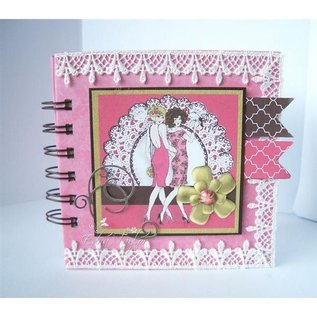 """Crafter's Companion A6 Frou Frou Unmounted Rubber Designer Stamp Set, """"Two Of A Kind"""""""