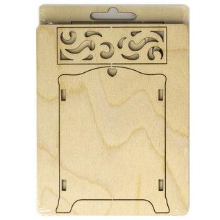 Holz, MDF, Pappe, Objekten zum Dekorieren Houten miniaturen, 8,5 x 4 x 11 cm
