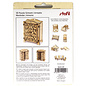 Holz, MDF, Pappe, Objekten zum Dekorieren Træminiaturer, 8,5 x 4 x 11 cm