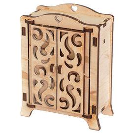 Holz, MDF, Pappe, Objekten zum Dekorieren Miniatures en bois, 8,5 x 4 x 11cm