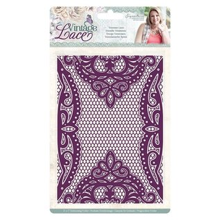 Crafter's Companion 3D embossing folder, vintage lace 13 x 18 cm