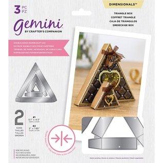 Gemini NYHED! Skabeloner med dobbeltsidet kasse af Gemini Dimensionals
