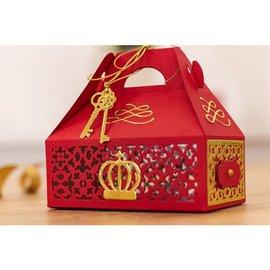 """Gemini Box Stencils de Gemini Dimensionals """"Gift Box"""""""