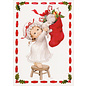 BASTELSETS / CRAFT KITS SET artisanal, pour la conception de 3 jolies cartes de Noël + 3 étiquettes supplémentaires, cartes de voeux pour Noël!