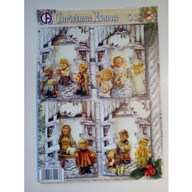 BASTELSETS / CRAFT KITS Craft SET, card design, christmas, HUMMEL
