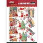 Bilder, 3D Bilder und ausgestanzte Teile usw... 3x Pushout 3D: creazioni Yvonne, Natale in famiglia, Natale amoroso