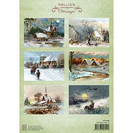 Nellie Snellen Feuille A4 avec de belles images vintage