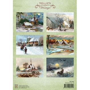 Nellie Snellen A4 Blatt mit wunderschöne vintage Bilder