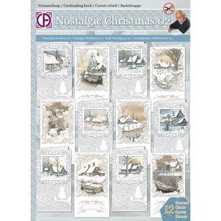 BASTELSETS / CRAFT KITS Craftset voor 12 nostalgische winterkaarten!