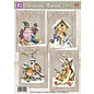 BASTELSETS / CRAFT KITS Craft Kit, Set di carte, Paesaggi invernali, per 4 bellissime carte! - Copia