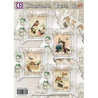 BASTELSETS / CRAFT KITS Jeu de cartes incroyablement beau, pour la conception de 4 cartes, avec une belle basse sur du papier lin.