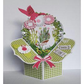 Dutch DooBaDoo Kunstschablone von Dutch Box Art, für Pop out BOXES
