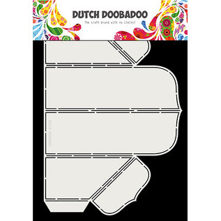 Dutch DooBaDoo Art template by Dutch Box Art, for pop out BOXES