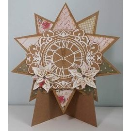 Joy!Crafts / Jeanine´s Art, Hobby Solutions Dies /  Stamping- and pre-template: Clock