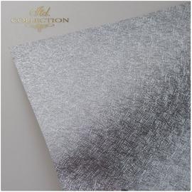 Karten und Scrapbooking Papier, Papier blöcke Flott strukturert papir A4, 180 gr, med sølvfargede fibre, valg i sølv eller gull