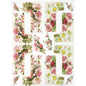 DECOUPAGE AND ACCESSOIRES NEW! Soft paper, rice paper, decoupage. For designing on cards, kraft paper, cardboards, wood, glass, porcelain, MDF, polystyrene and many others.