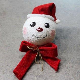 Embellishments / Verzierungen Strickschlauch, B 22 mm, Weihnachtsrot Meterwaren