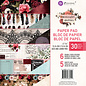 """Prima Marketing und Petaloo Prima Marketing, Bloc de papier, 15,24 x 15,24 cm """"Jardin de minuit"""""""