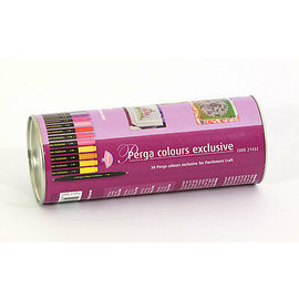 FARBE / MEDIA FLUID / MIXED MEDIA Perga Colour Exklusiv, Stiften für auf Pergamentpapier - LETZTE VERFÜGBAR!