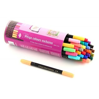 FARBE / MEDIA FLUID / MIXED MEDIA PergPerga Color Exclusive, stylos pour papier parchemin, Color Exclusive, stylos pour papier parchemin