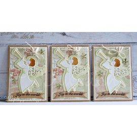 Marianne Design Ponsen en embossing sjablonen Craftables, Engel