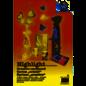 Karten und Scrapbooking Papier, Papier blöcke Bastelpapier, Highlight , 215g/qm, 23x33cm , 12 Blatt