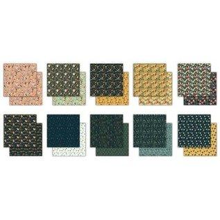 Stamperia und Florella Designerpapier, Karten- und Scrapbook Papier, 30,5 x 30,5cm, 200 gsm
