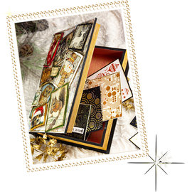 Objekten zum Dekorieren / objects for decorating ANGEBOT! Holz Dose in Buchform