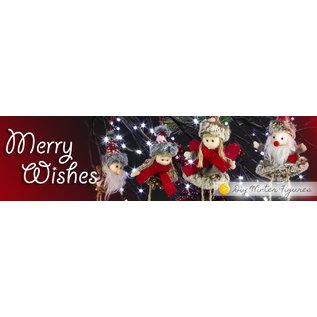 BASTELSETS / CRAFT KITS Bastelset: schattige winterfiguren, winterdecoratie, kerstversiering, decoratie in selectie