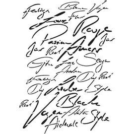 VIVA DEKOR (MY PAPERWORLD) Universale A3 Kunstschablone: Schrift