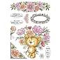 Wild Rose Studio`s Wild Rose Studio, A5 stamp, AS002 Milton