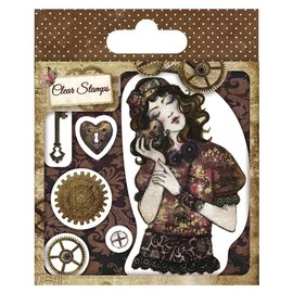 Stempel / Stamp: Transparent Timbro trasparente, Santoro Willow