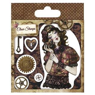 Stempel / Stamp: Transparent Timbro trasparente, Santoro Willow