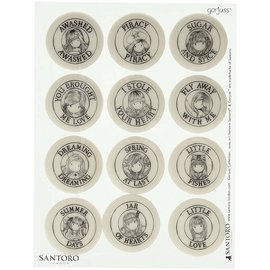 Gorjuss / Santoro 12 timbres, Santoro / Gorjuss