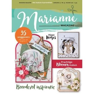 Marianne Design Marianne magazine, with many inspirational pictures, in NL language