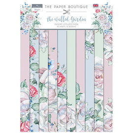 Karten und Scrapbooking Papier, Papier blöcke NEU! A4 Papierblock, The Garden, 40 Blatt, 10 x 4 Designs, 120 gsm,