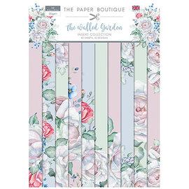 Karten und Scrapbooking Papier, Papier blöcke NEW! A4 paper block, The Garden, 40 sheets, 10 x 4 designs, 120 gsm,