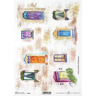 DECOUPAGE AND ACCESSOIRES NUEVO! Papel suave, papel de arroz, decoupage. Para el diseño en tarjetas, papel kraft, cartones, madera, vidrio, porcelana, MDF, poliestireno y muchos otros.