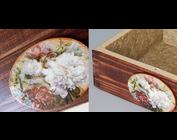 Découpage, serviettes de table et papier de riz